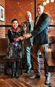 The award for best fruit wine.